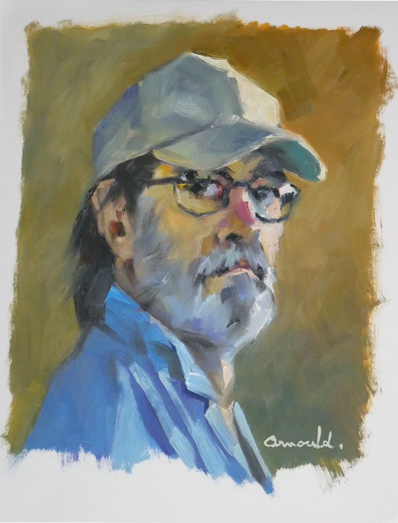 Christian Arnould - Self portrait