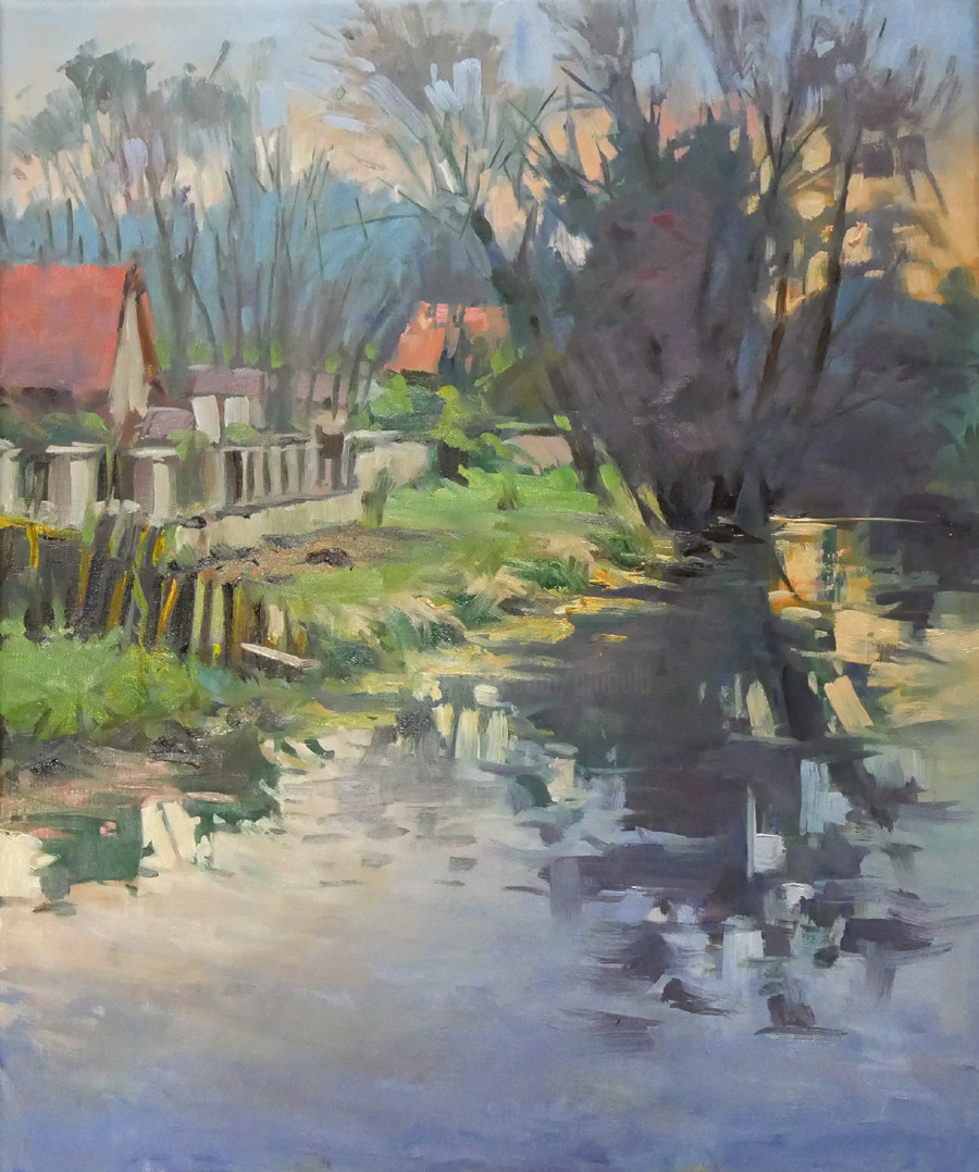 Christian Arnould - Sur le pont de Richardménil