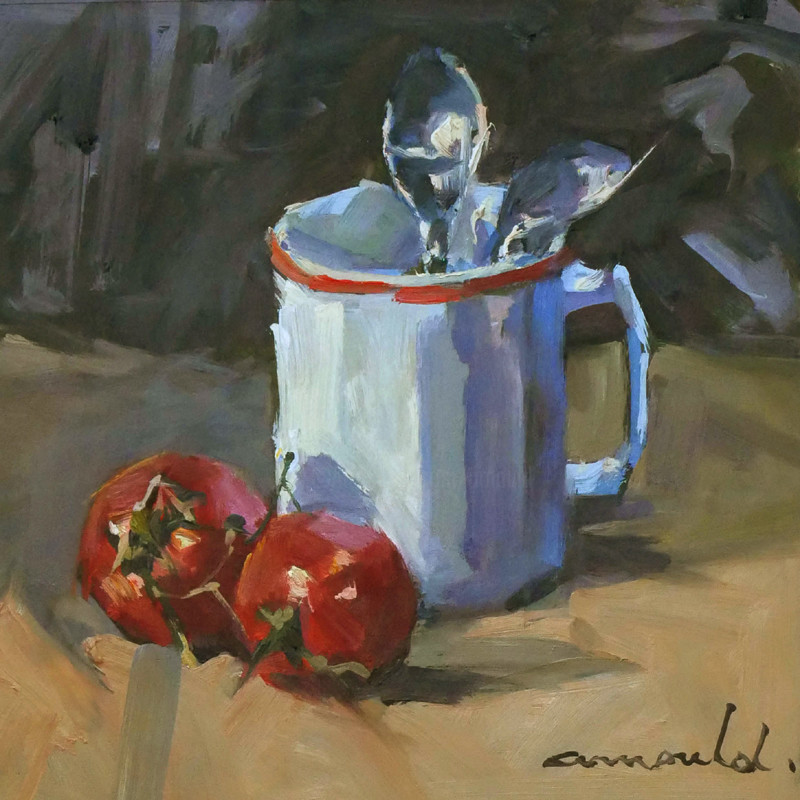 Christian Arnould - Nature morte d'un matin pluvieux