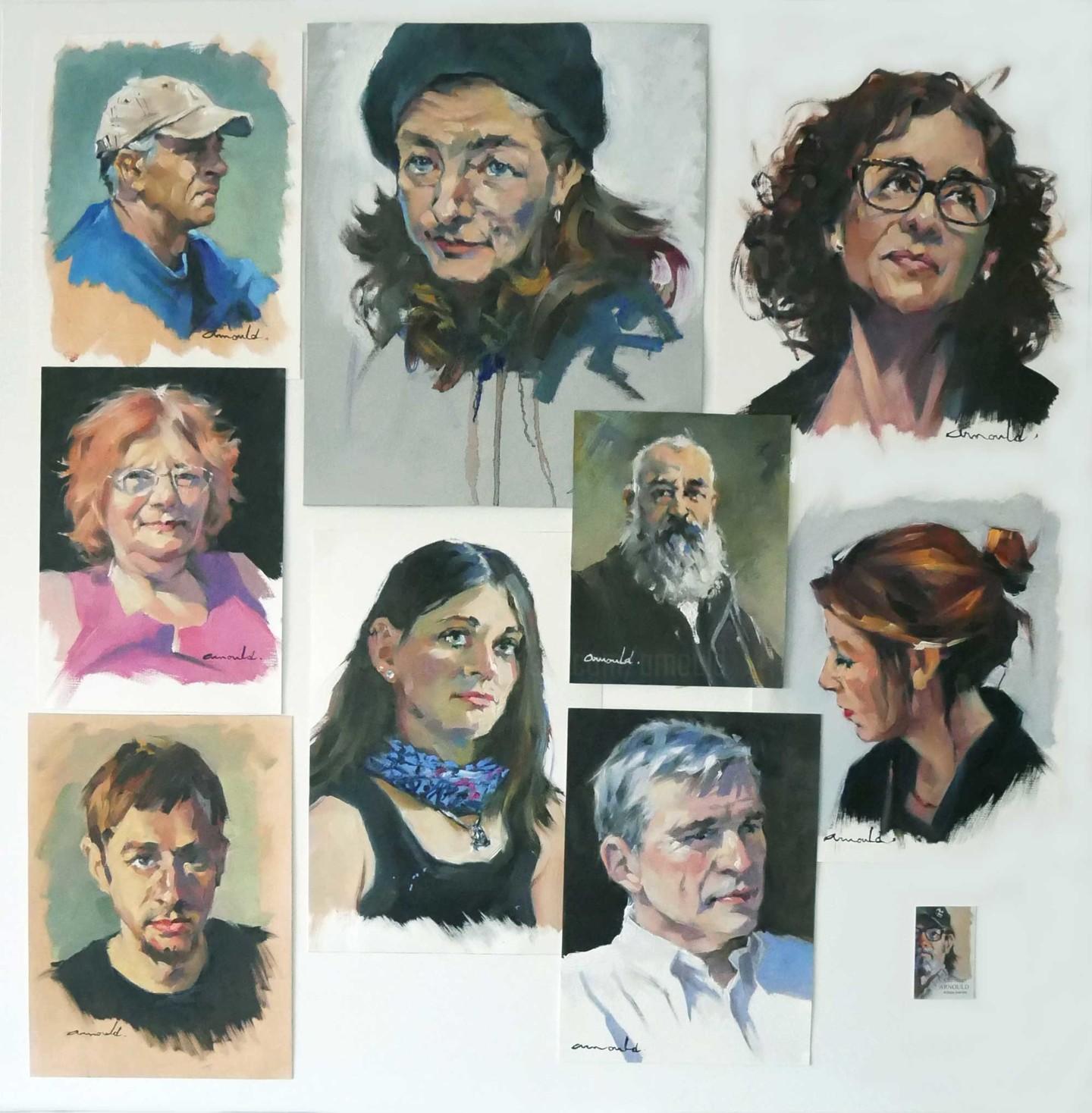 Christian Arnould - Galerie de portraits