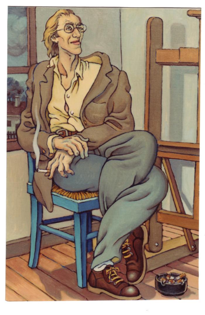 Christian Arnould - Autoportrait - 1987