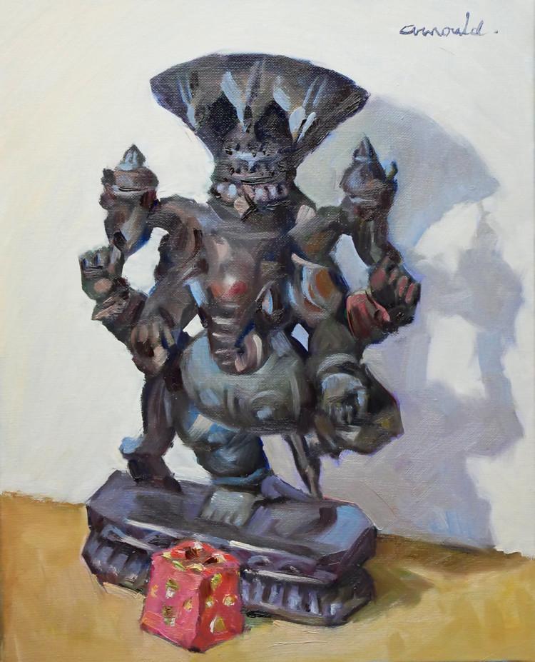 Christian Arnould - Le bienveillant Ganesh pour ma fille