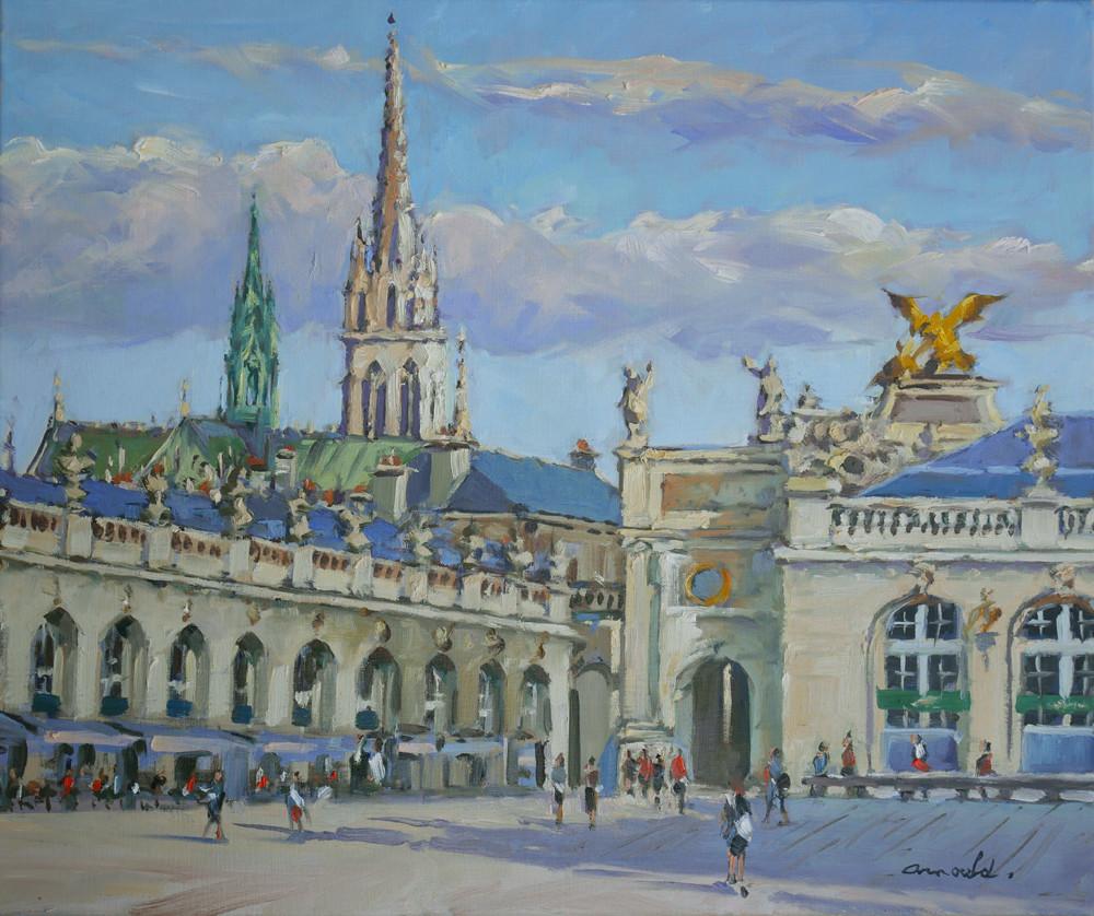Christian Arnould - Place Stan à Nancy