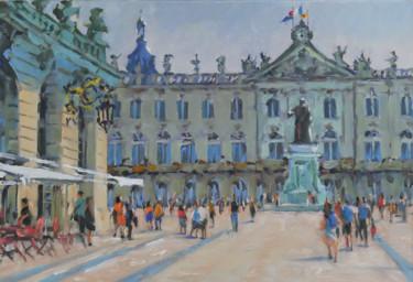 Place Stanislas à Nancy (huile sur toile 55 x 46)