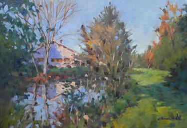 Etude en atelier (huile sur toile 55 x 38)