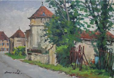 Neuviller sur Moselle 3 (huile sur toile 55 x 38)