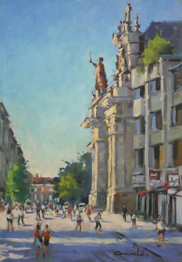 Un matin à Nancy (huile sur toile 61 x 38)