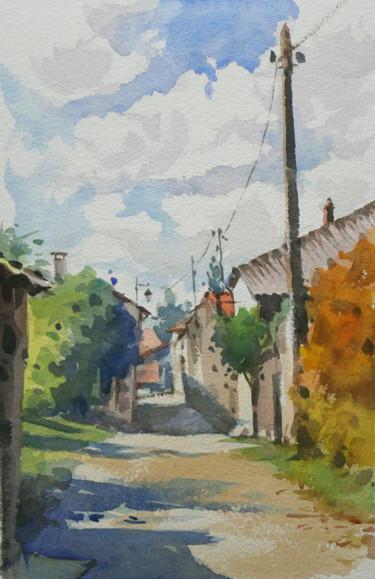 Vaudémont dans le Saintois (aquarelle)