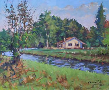 Derrière chez moi (huile sur toile 61 x 50)