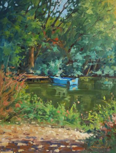 La barque bleue à Messein