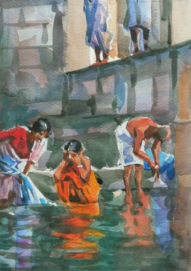 India (aquarelle 24 x 19)