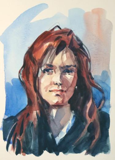 Rousse (aquarelle 24 x 19)