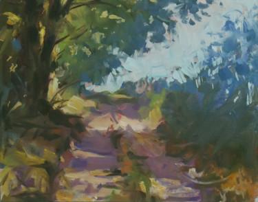 Esquisse de paysage 2 (huile sur papier 24 x 19)