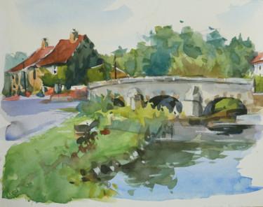 Petit pont (Aquarelle 24 x 19)