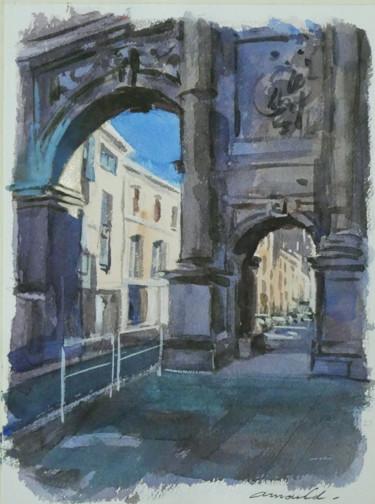 Porte Désilles  à Nancy (Aquarelle 27 x 22)