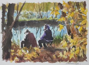 Les deux anciens au bord de l'eau