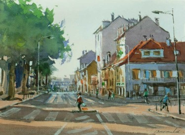 Villers les Nancy 2 (aquarelle 33 x 24)