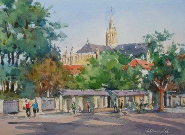 Villers les Nancy 3 (aquarelle 33 x 24)