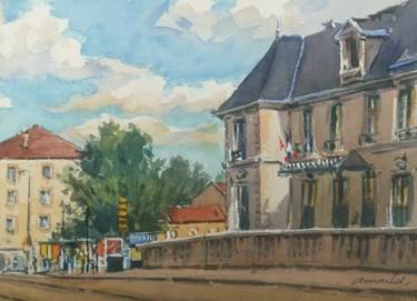Saint Max 1 (aquarelle 27 x 22)