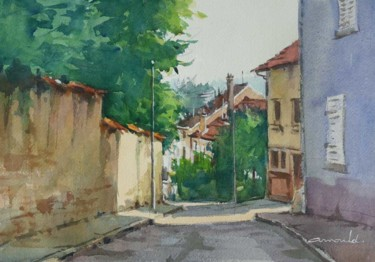 Rue du château dans le vieux Saint Max