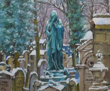 Père Lachaise sous la neige