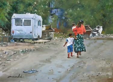Maman Rom achevée (huile sur toile 81 x 65)