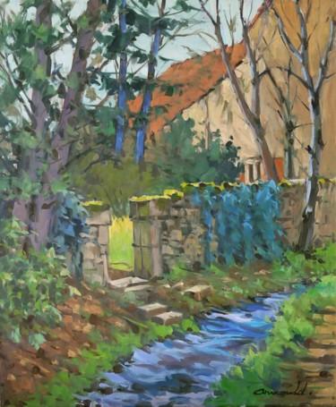 Hier à Ceintrey (huile sur toile 65 x 54)