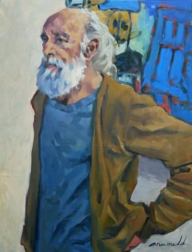 Le peintre (huile sur toile 65 x 50)