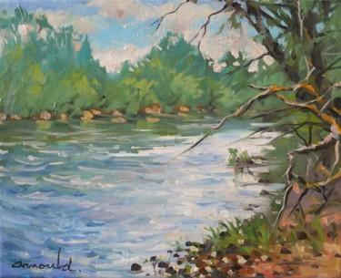 Mon amie la Moselle (huile sur toile 41 x 33)