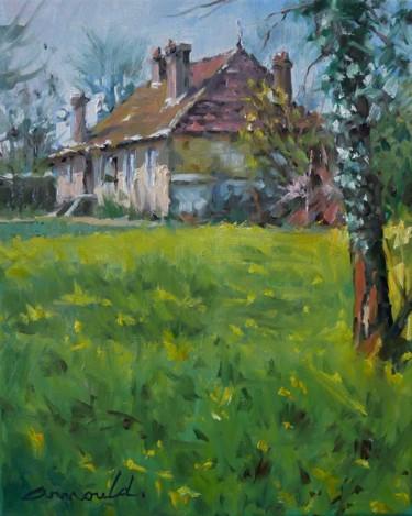 La maison (huile sur toile 41 x 33)