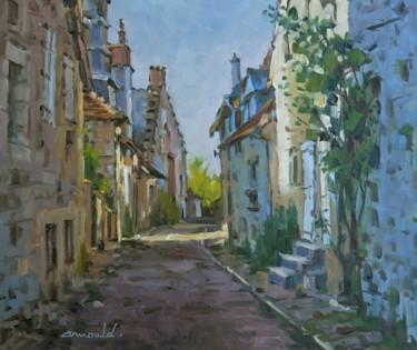 Village de Turenne (huile sur toile 55 x 46)