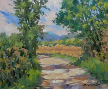D'après une photo de Clarisse Aubry (huile sur bois 46 x 38)