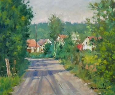 Petit coin derrière chez moi (huile sur toile 55 x 46)