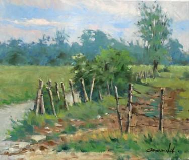 Derrière Tonnoy (huile sur toile 55 x 46)