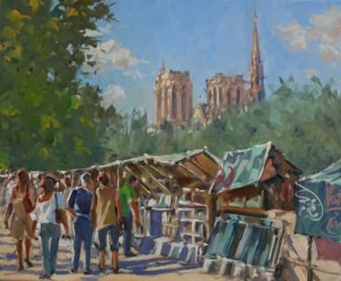 Ah, Paris ! (huile sur toile 46 x 38)