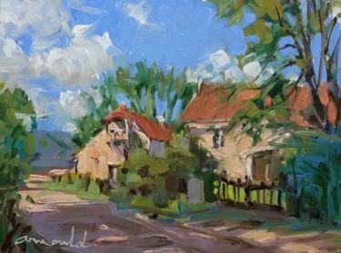 Le Moulin de Louis (huile sur carton 33 x 24)