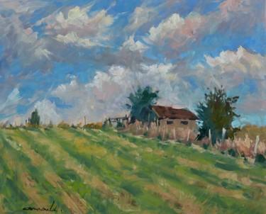 Ce matin chez Françoise Marie (huile sur toile 55 x 46)