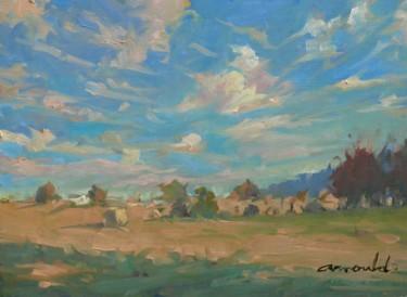 Derrière chez Françoise Marie (huile sur papier 33 x 24)