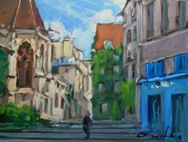 Vieux Paris (huile sur papier 33 x 24)