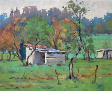 A deux pas de chez moi (huile sur toile 46 x 38)