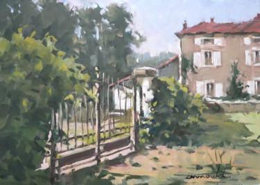 Palette réduite (huile sur papier 42 x 29)