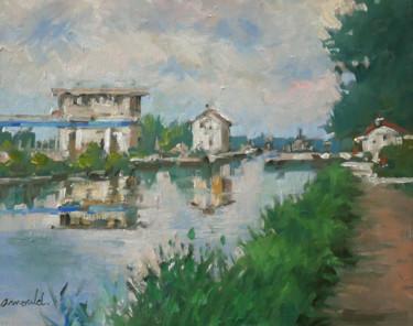 La passerelle du canal