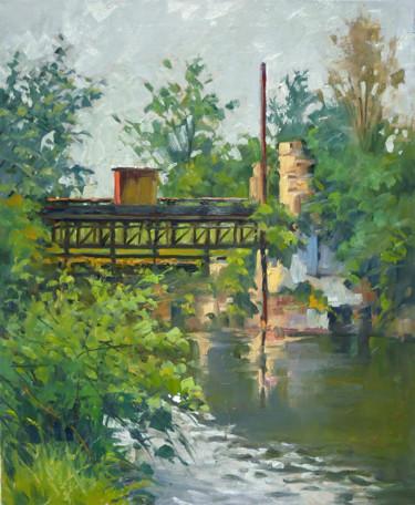 Rue du Général Paul Daume à Nancy (huile sur toile 61 x 50)