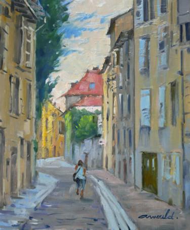 Rue Jacquard Nancy (huile sur toile 46 x 38)