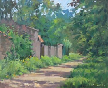 Dans mon chemin (huile sur toile 61 x 50)