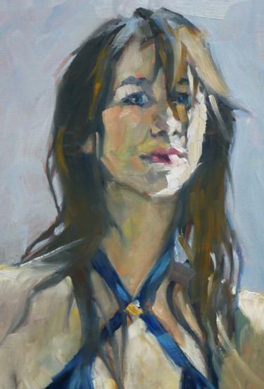 Charlotte Gainsbourg (huile sur papier 26x38)