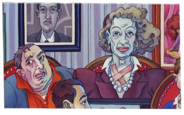 """""""Ces gens là"""" détail 1 (1989)"""