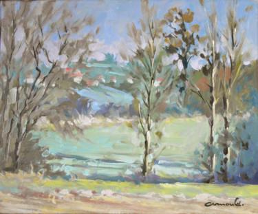 Entre Fontenoy et Glonville (huile sur toile 46 x 38)