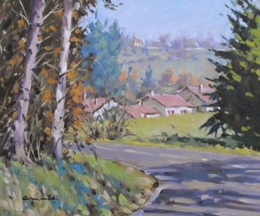 Hier à Badménil (huile sur toile 55 x 46)