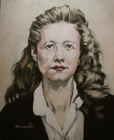 Maman de Sylvia (dcd) portrait de commande d'aprés photo